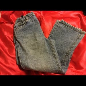 Boys husky jeans size 8 with inseam of 23 inches